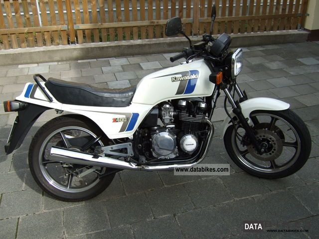1985 Kawasaki  Z 400 F Motorcycle Tourer photo