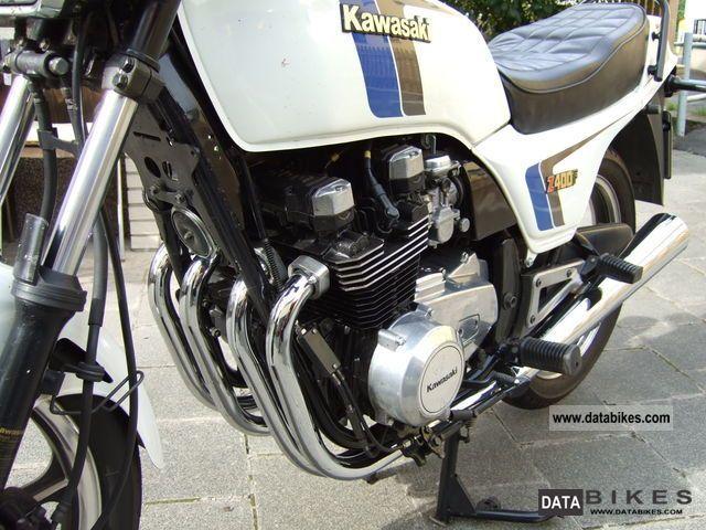 1985 Kawasaki Z 400 F