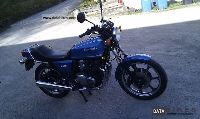 1983 Kawasaki  Z 500 Motorcycle Motorcycle photo
