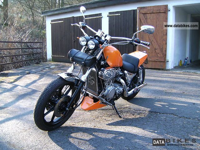 1988 Kawasaki  VN 750 conversion Motorcycle Chopper/Cruiser photo