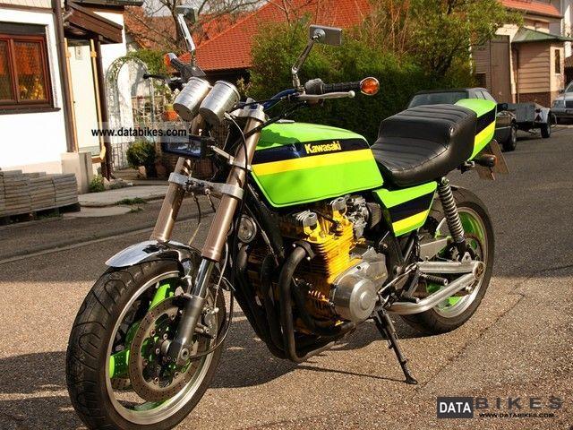 Restored Kawasaki Z1000R Eddie Lawson - 1983 Photographs