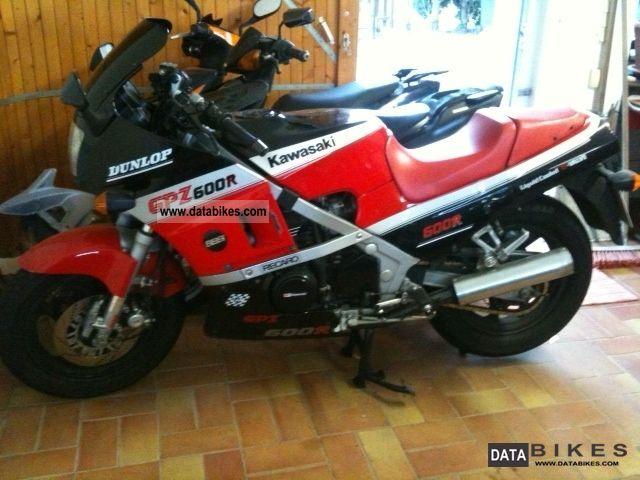 1987 Kawasaki  ZX 600 A Motorcycle Motorcycle photo