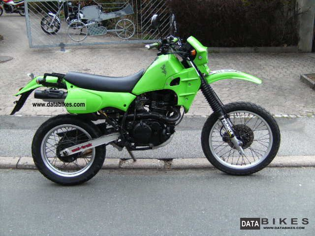 1986 Kawasaki  KLR600 Motorcycle Enduro/Touring Enduro photo