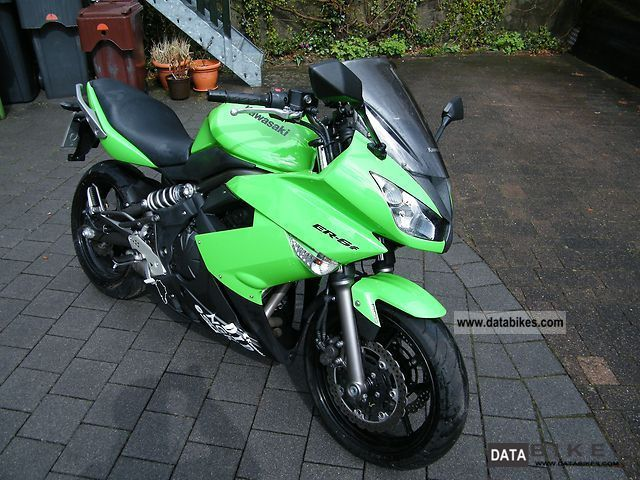 2009 Kawasaki  ER 6f Motorcycle Sport Touring Motorcycles photo