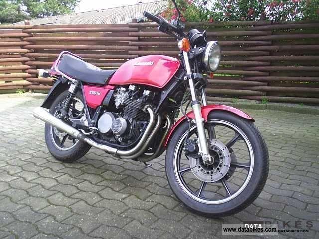 1982 Kawasaki  Z 750 Motorcycle Naked Bike photo