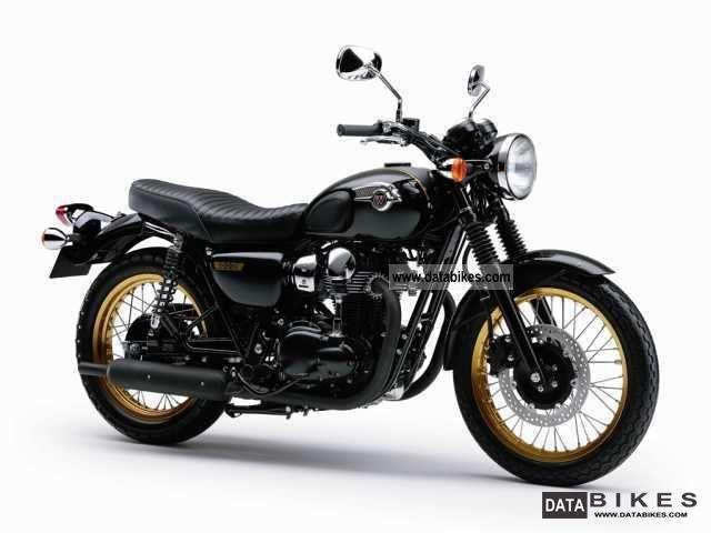 2012 Kawasaki  W, W 800 W800 Special Edition model in 2012 Motorcycle Chopper/Cruiser photo