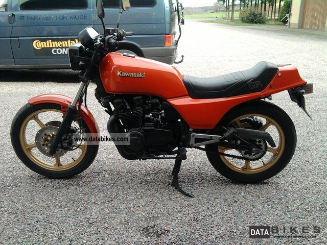 Kawasaki GPZ 550 UNI TRACK ( die flotte Lotte ) - Bestes