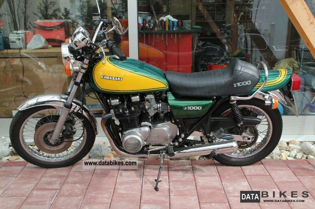 Kawasaki  We have 50 Z 1000 vintage in stock!! 1976 Vintage, Classic and Old Bikes photo
