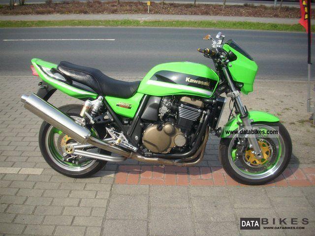 2007 Kawasaki  ZRX 1200 R LimeGreen! Motorcycle Sport Touring Motorcycles photo