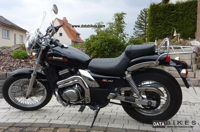 1999 Kawasaki  EL 250B (EL252) Motorcycle Chopper/Cruiser photo