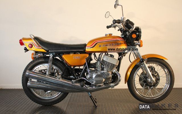 Kawasaki  H2 750 Mach IV 1972 Vintage, Classic and Old Bikes photo