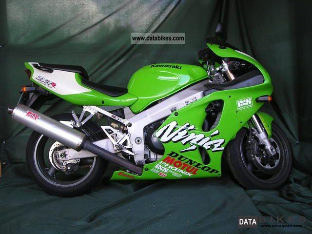 2002 Kawasaki  ZX7R Motorcycle Sports/Super Sports Bike photo