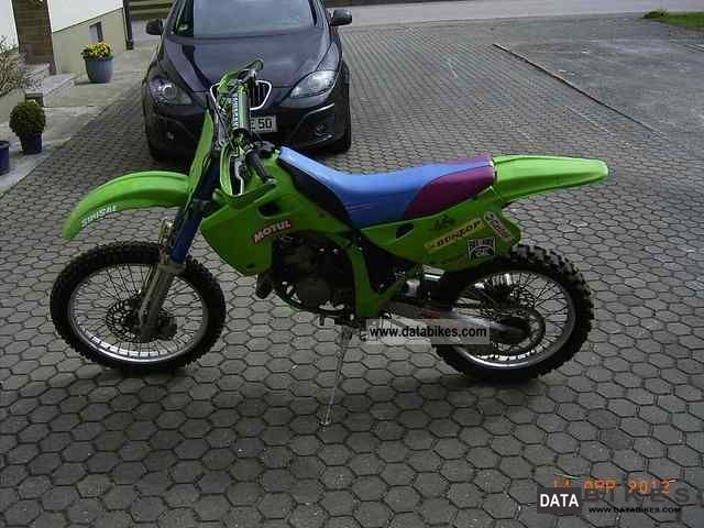 1992 Kawasaki  KX 125 Motorcycle Rally/Cross photo