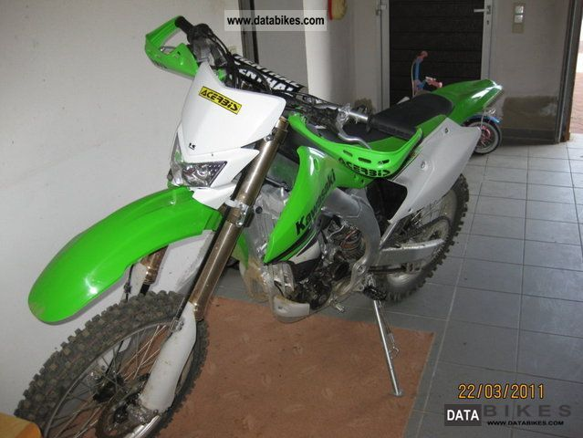 2008 Kawasaki  KLX450R Motorcycle Enduro/Touring Enduro photo