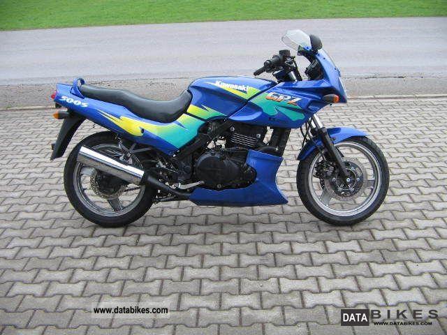 1996 Kawasaki  GPz 500 Motorcycle Sport Touring Motorcycles photo