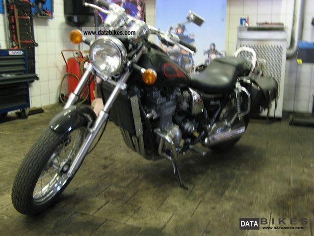 1998 Kawasaki  ZL 600 Motorcycle Chopper/Cruiser photo