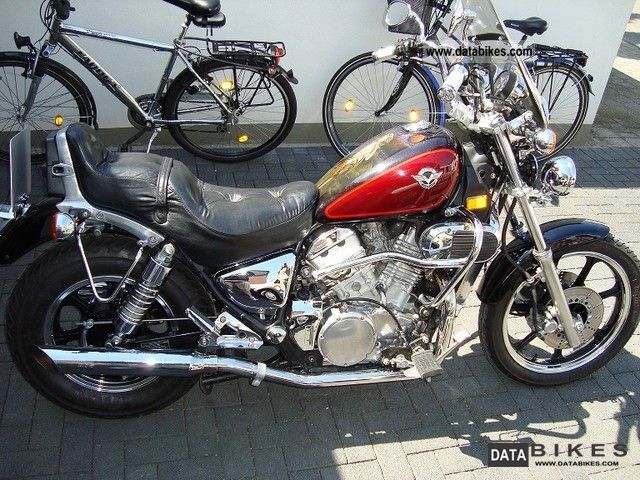 1996 Kawasaki  VN750 Motorcycle Chopper/Cruiser photo