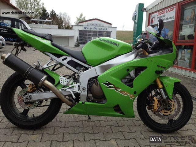 2003 Kawasaki NINJA ZX 636 04/2003 TOP CONDITION