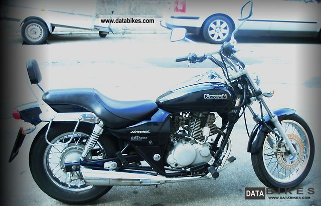 1998 Kawasaki  BN125 Motorcycle Chopper/Cruiser photo