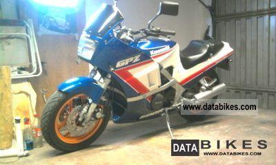 1990 Kawasaki  GPZ Motorcycle Racing photo
