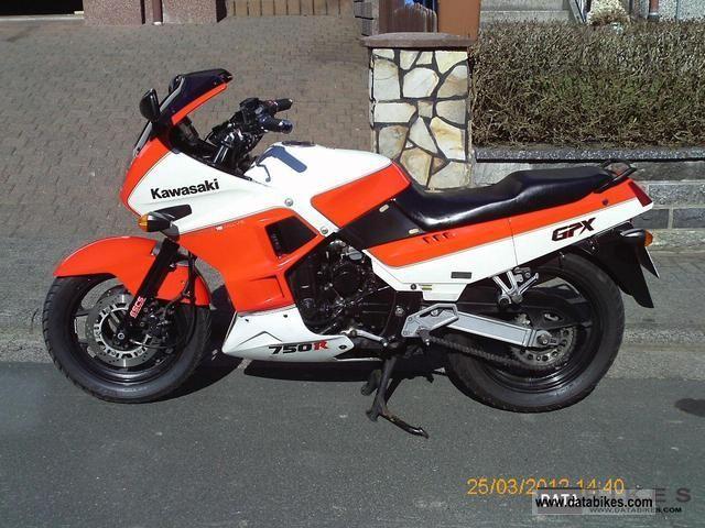 1989 Kawasaki  GPX 750 R Motorcycle Sport Touring Motorcycles photo