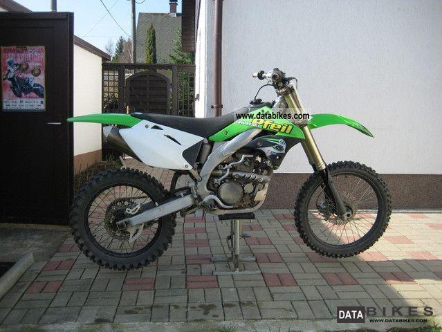 2008 Kawasaki  KX 450 Motorcycle Dirt Bike photo
