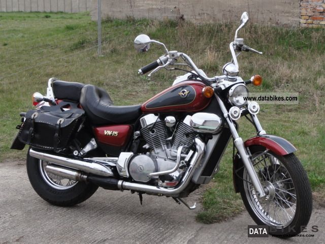 1995 Kawasaki  VN 15 Motorcycle Chopper/Cruiser photo