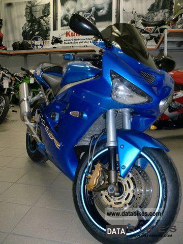 2003 Kawasaki  ZX636 Motorcycle Sports/Super Sports Bike photo