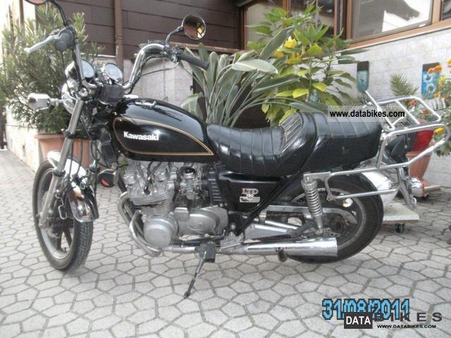 1980 Kawasaki Z 750 KZ good substance original collectors!