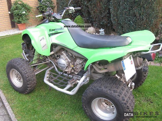 2008 Kawasaki  KFX 700 Motorcycle Quad photo