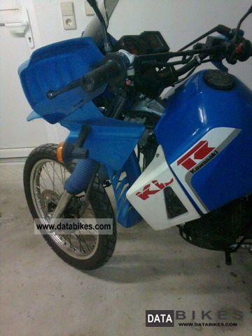 1987 Kawasaki  KLR 650 Motorcycle Enduro/Touring Enduro photo