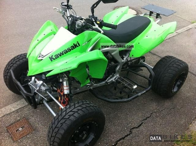 Kawasaki  KFX 450R 2010 Quad photo