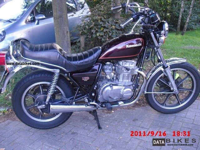 1982 Kawasaki  Z 440 Motorcycle Chopper/Cruiser photo