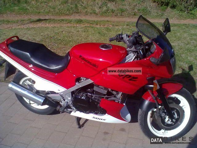 1986 Kawasaki  GPZ 500 Motorcycle Motorcycle photo
