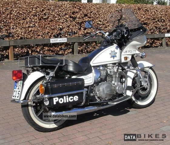 Kawasaki  Police in 1000 1993 Chopper/Cruiser photo