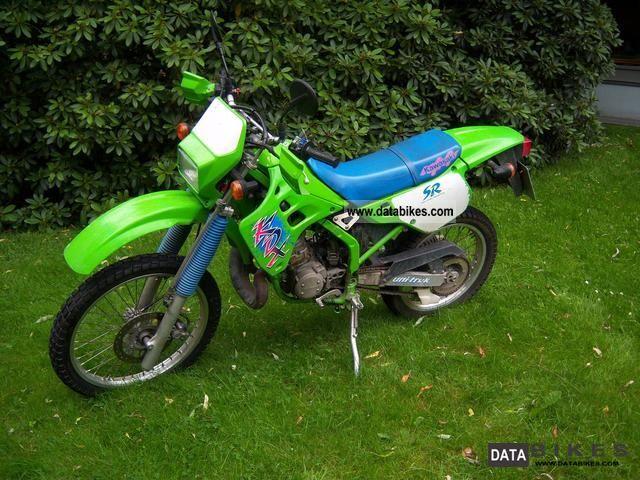 1993 Kawasaki Kdx 125 Sr  Kmx