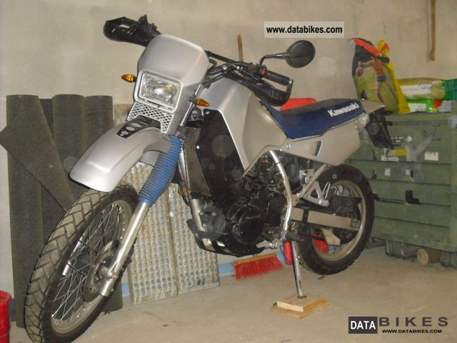 1989 Kawasaki  KLR 650 Motorcycle Super Moto photo