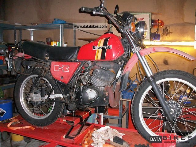 1980 Kawasaki  KE 175 Motorcycle Enduro/Touring Enduro photo