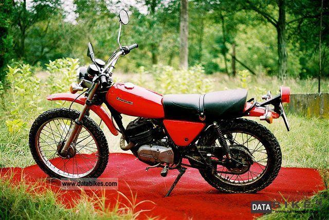 1980 Kawasaki  KE125 Motorcycle Motorcycle photo