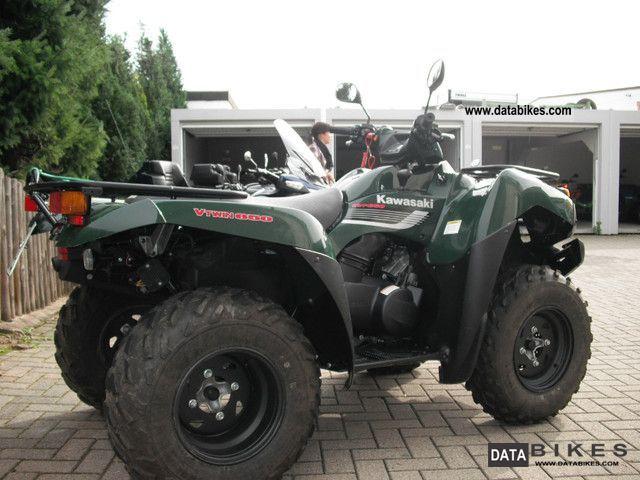 2010 Kawasaki Kvf 650 4x4 With Lof Approval