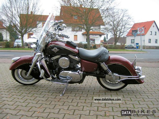 2004 Kawasaki  VN1500 Drifter - chrome model - Roadhouse! Motorcycle Chopper/Cruiser photo