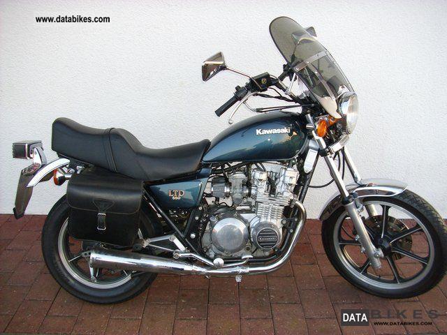 1984 Kawasaki  Ltd. 550 / C K550 Motorcycle Chopper/Cruiser photo