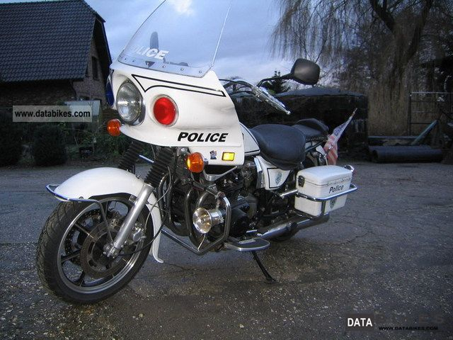 1982 Kawasaki  Z 1000 Police Motorcycle Chopper/Cruiser photo