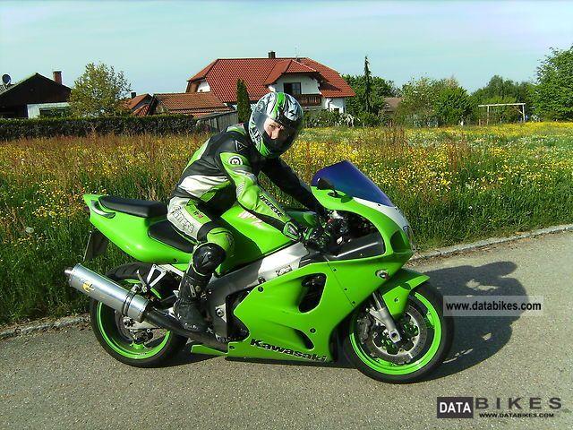 1996 Kawasaki  ZX 750 Ninja Motorcycle Sports/Super Sports Bike photo