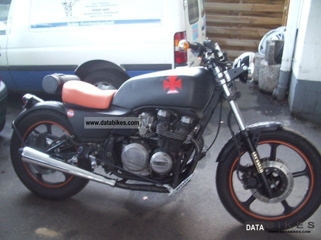 1983 Kawasaki CAFE RACER 550 bobber Motorcycle Motorcycle photo ...