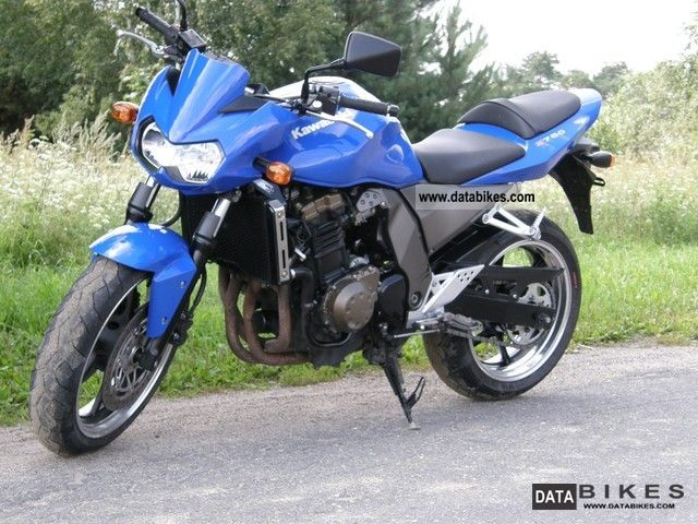 2003 Kawasaki  z 750 Motorcycle Naked Bike photo