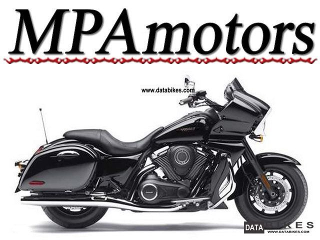 2011 Kawasaki  VULCAN 1700 VAQUERO Motorcycle Chopper/Cruiser photo