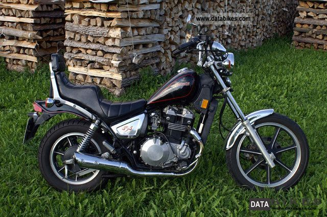 1988 Kawasaki  LTD 454 Motorcycle Chopper/Cruiser photo