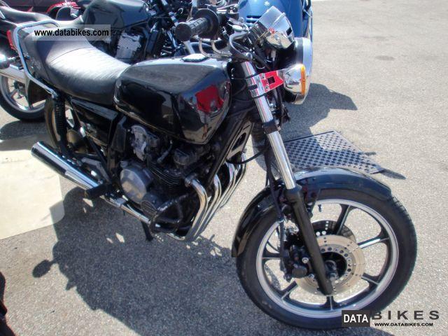 1983 Kawasaki  Z 400 J Motorcycle Motorcycle photo