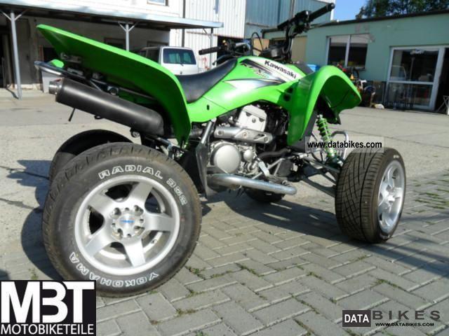 Kawasaki Kfx 400 >> 2003 Kawasaki KFX 400 Quad with aluminum rims fats